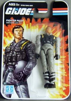 "GI Joe - FIGHTER PILOT - Code Name: Capt. Ace - 3 3/4"" inch Scale /ca. 10cm Action Figur - OVP"
