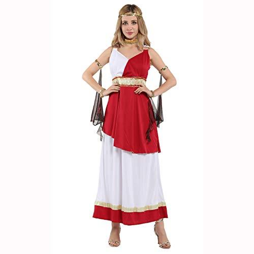 Athena Kopfbedeckung Kostüm - BESTSOON-TGA Halloween Cosplay Kostüm Erwachsene Athena Königin Kaiserin Arabische Prinzessin Kostüm