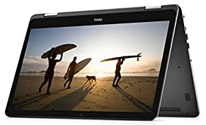 Dell Inspiron 5000 13.3-Inch 2in1 Convertible Touchscreen Laptop - (Silver) (Intel i5-7200U, 8 GB RAM, 256 GB SSD, Windows 10)