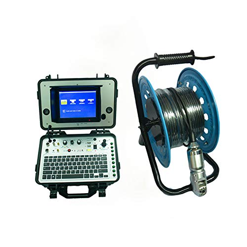 Preisvergleich Produktbild WG Rohrkamera Visual Inspection Camera Pan Tilt Kamera mit Aufnahme Foto,  Video-Aufnahme-Funktion 30m Kabel