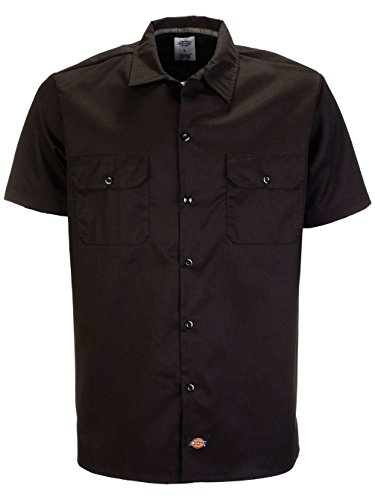 Dickies - T-Shirt Manches Longues - coupe cintrée - Manches Courtes Homme Noir