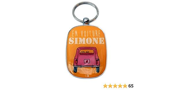 Porte Clés Opat Simone Rose Jaune Baby
