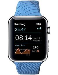 Apple Watch Pulsera Deporte Azul 42mm silicona Run customisé–Wings