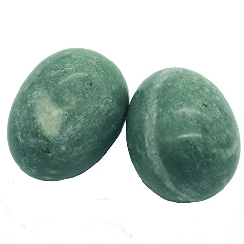 Oval Marmor Baoding Chinesische Gesundheit Übung Stress Bälle in Naturstein Craft Collection, blackish green