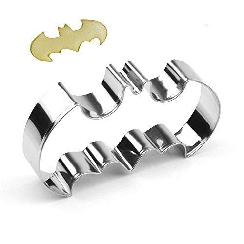 GXHUANG - Stampo per tagliare i biscotti di Batman, in acciaio inox