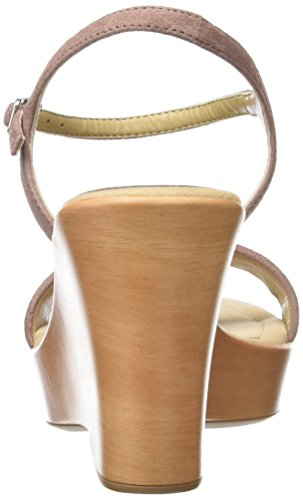 Unisa Damen Rita_17_ks Offene Sandalen mit Keilabsatz Pink (Lambrusco)