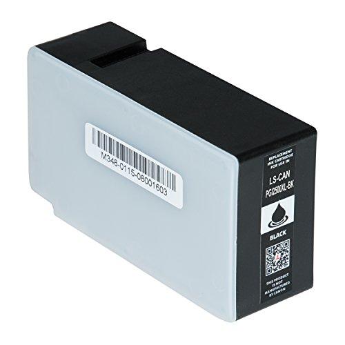 Logic-Seek Tintenpatrone kompatibel zu Canon Maxify MB5150 MB5350 MB5450 IB4050 - PGI-2500XL Schwarz