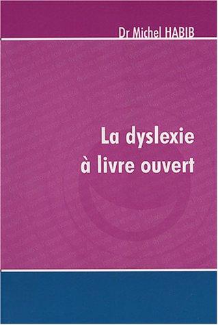 La dyslexie  livre ouvert