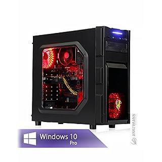 Ankermann Ryzen Performance Gamer PC PC Ryzen 5 1600X 6x3.6GHz GeForce GTX 1050 Ti 4GB 4K 16GB RAM 240GB SSD 1TB HDD Windows 10 PRO