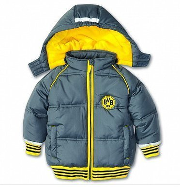 e2cf4028b1 Borussia Dortmund BVB-Babyjacke MIT Kapuze (Anorack) Größe 68