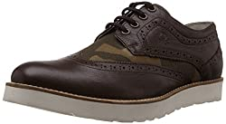 UCB Mens Brown 901 Leather Formal Shoes -8 UK/India (42 EU)