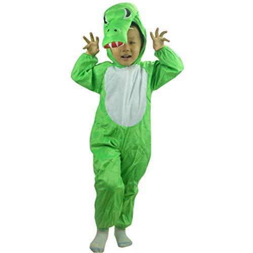 osplay Kostüm Kinder Halloween Party Animal Kleidung XL (grün) ()