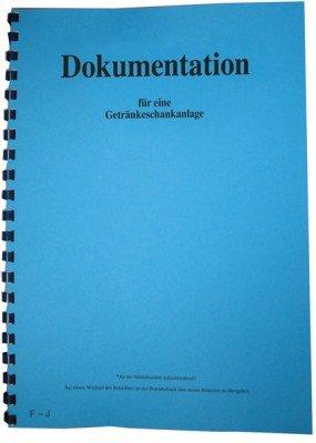 Betriebsbuch für Schankanlagen - Dokumentation für Getränkeschankanlagen