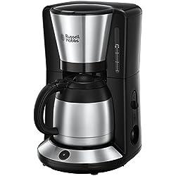 Russell Hobbs 24020-56 Machine à Café, Cafetière Filtre 1L Adventure Isotherme - Acier Brossé