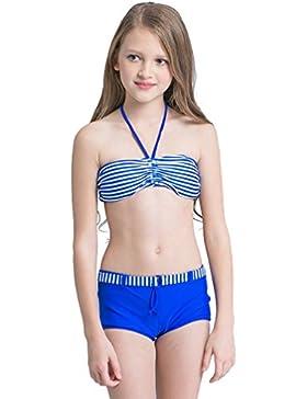 Baymate Niñas Verano Trajes de Baño Dos Piezas Bikini Set Playa Bañador Swimwear