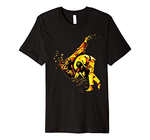 Judo Martial Arts Shattered Gold Einzigartige Fighting T Shirt