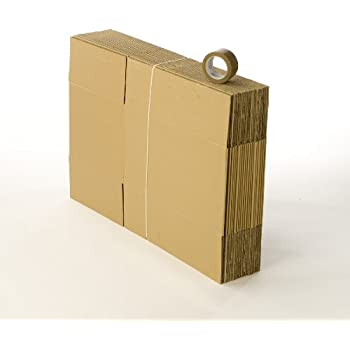 carton demenagement - 20 cartons standard avec 1 adhésif gratuit