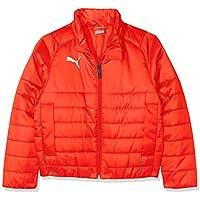 Puma Liga Casuals Padded Jacket Chaqueta, Todo el año, Infantil, Color Red White, tamaño 176