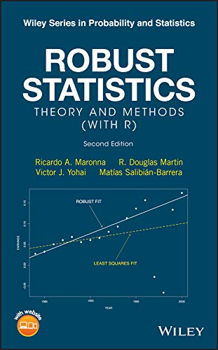 Robust Statistics: Theory and Methods (with R) (Wiley Series in Probability and Statistics)