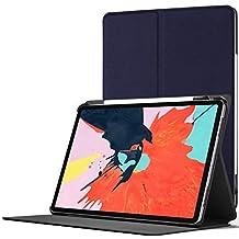 Forefront Cases iPad 9.7 2018 H/ülle Stift /& Displayschutz Wei/ß D/ünn Leicht Magnetische H/ülle und St/änder f/ür Apple 9.7 inch iPad 2018 6th Generation | Smart Schlaf Wach A1893, A1954