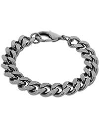 Bronze Men's Curb Bracelet of 20cm