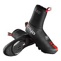 MASIKI Bike Shoe Covers, Outdoor Sports Cycling Shoe Covers Waterproof Warmer Overshoes Shoe Cover for Men Women MTB Winter Rain Cycle Bicycle Mountain Road Toe Cover