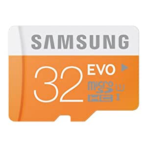 AE MOBILE ACCESSORIES Samsung Electronics 32GB EVO Micro SDHC UHS-I Upto 48MB/s Class 10 Memory Card (MB-MP32D)