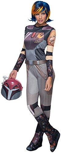 Kostüm Wren Sabine - Sabine Wren Kostüm für Frauen Star Wars Rebellen - Gr. S