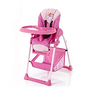 disney 660294 chaise haute up 39 n down chaise haute princess rose b b s. Black Bedroom Furniture Sets. Home Design Ideas