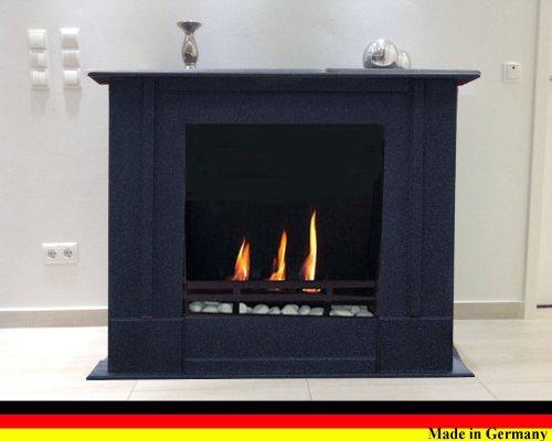 Bio- Ethanol Cheminée Modèle Rafael Premium - Choisissez parmi 9 couleurs (Granit foncé)