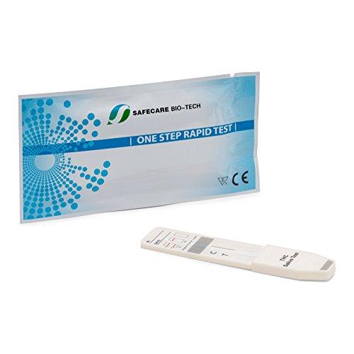 10 x Drogentest zur Bestimmung von MDMA - Ectasy im Speichel - - Drogenschnelltest Speicheltest