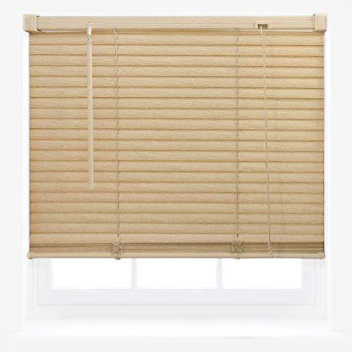Furnished venezianische Fenster-Jalousien aus PVC, Vinyl, Natur, 105cm x 150cm (Jalousien Vinyl)