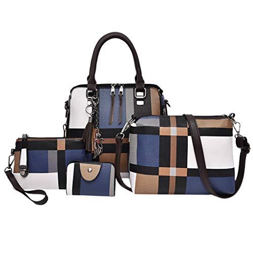 OIKAY Mode Damen Tasche Handtasche Schultertasche Umhängetasche Mode Neue Handtasche Frauen Umhängetasche Schultertasche Strand Elegant Tasche Mädchen 0605@038