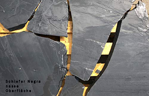 "Natursteinplatten Polygonalplatten Schiefer\""Negra\"""