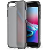 iPhone 8 Plus 7 Plus Hülle, [Unterstützt kabelloses Laden (Qi)] Anker KARAPAX Touch Case, aus weiche TPU [Unterstützt Wireless Charging] [Slim Fit] für iPhone 8 Plus (2017) / iPhone 7 Plus (2016)-Schwarz