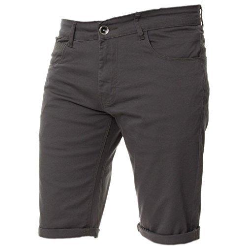 Kruze Mens Chino Shorts Designer...