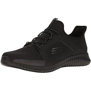 Skechers Herren Elite Flex Slip On Sneaker, rot