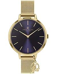 Sara Miller The Charm Collection SA4026 - Reloj con Correa de Malla bañada ...