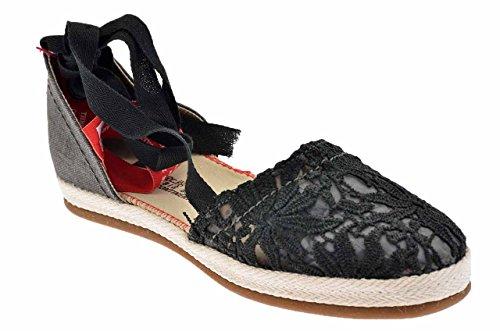 O-joo Campesina Baskets Basses Neuf Chaussures F. Noir