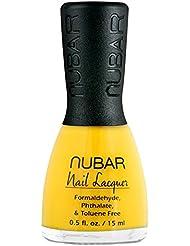 Nubar Mode Nagellack hot yellow, 1er Pack (1 x 15 ml)