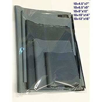 Blank Label 300 x 350mm Grey Poly Mailer Mailing Postal Pouches Self Seal Bags