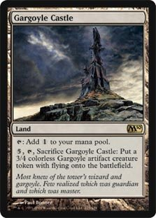 Gargoyle Castle - Magic 2010 (M10) by Magic: the Gathering - Gargoyle Castle