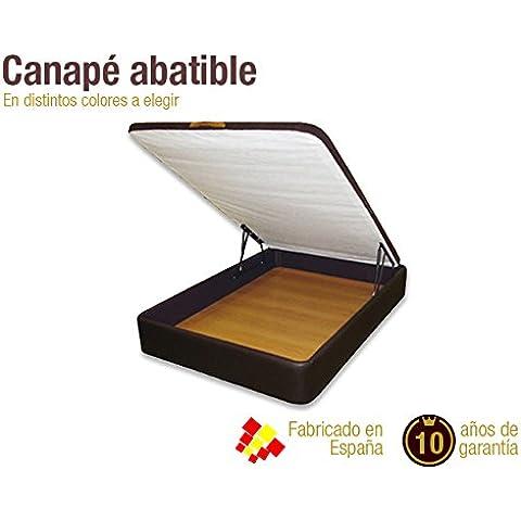 Canapé abatible Cuero. DISPONIBLE EN TODAS LAS MEDIDAS (180 x 200 cm)