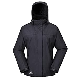 COX SWAIN Damen 2-Lagen Outdoor Multifunktionsjacke MAKALU div. Farben 3.000 mm Wassersäule, Colour: Black, Size: XS