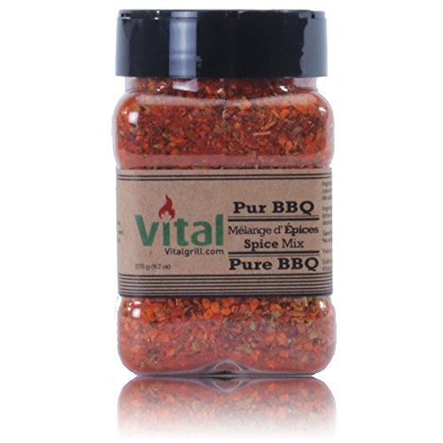 Vital VGS1062-01 Pur BBQ Gewürzmischung, 275 g -