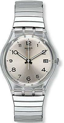 Swatch Reloj Digital de Cuarzo para Mujer con Correa de Acero Inoxidable – GM416A de Swatch