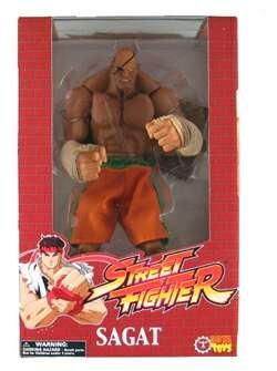 Street Fighter Rotocast figura Sagat