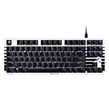 Razer Blackwidow Lite Stormtrooper Edition - Clavier de Jeu Silencieux et Tactile - Compact avec Cable Détachable - Design sans Clé - Interrupteurs Orange Razer - US Layout