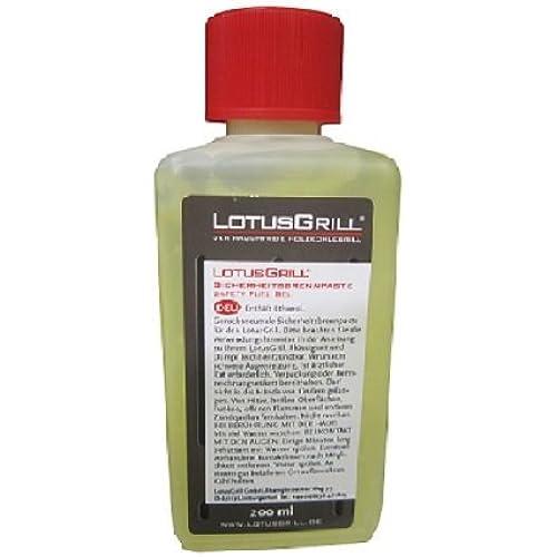Lotus Grill LG Gel Combustibile Inodore per Barbecue, 200 ml