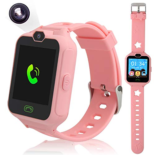 PHRtoy Smart Watch for kids, Unlocked Cell Phone Watch with [SIM Calls]...